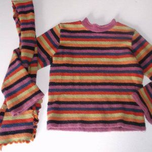 Deux par deux Sweater Scarf Set Girl Size 10